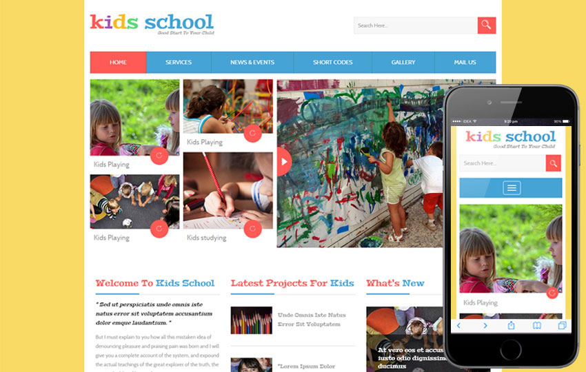 School Website Design: Creating A Theme That Stands Out!